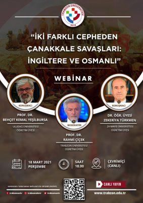 İki Farklı Cepheden Çanakkale Savaşları: İngiltere ve Osmanlı