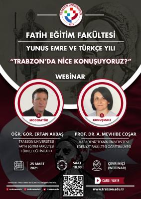 Trabzon'da Nice Konuşuyoruz?