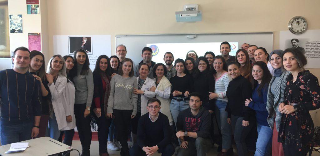 TED Trabzon Koleji Eğitimlerimiz Tamamlandı